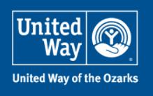 United Way of the Ozarks logo.