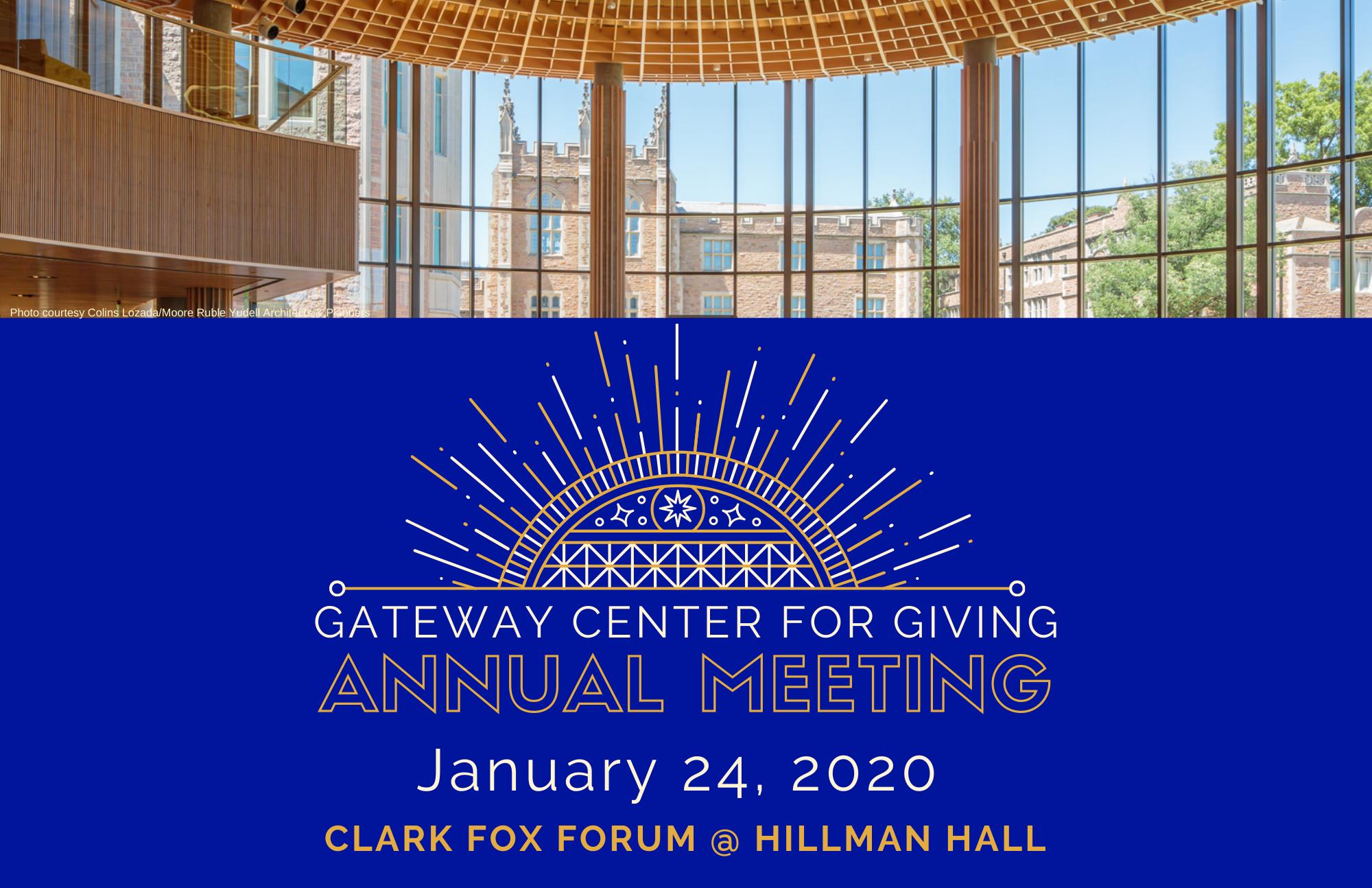 GCG Annual Meeting Invitation Cover