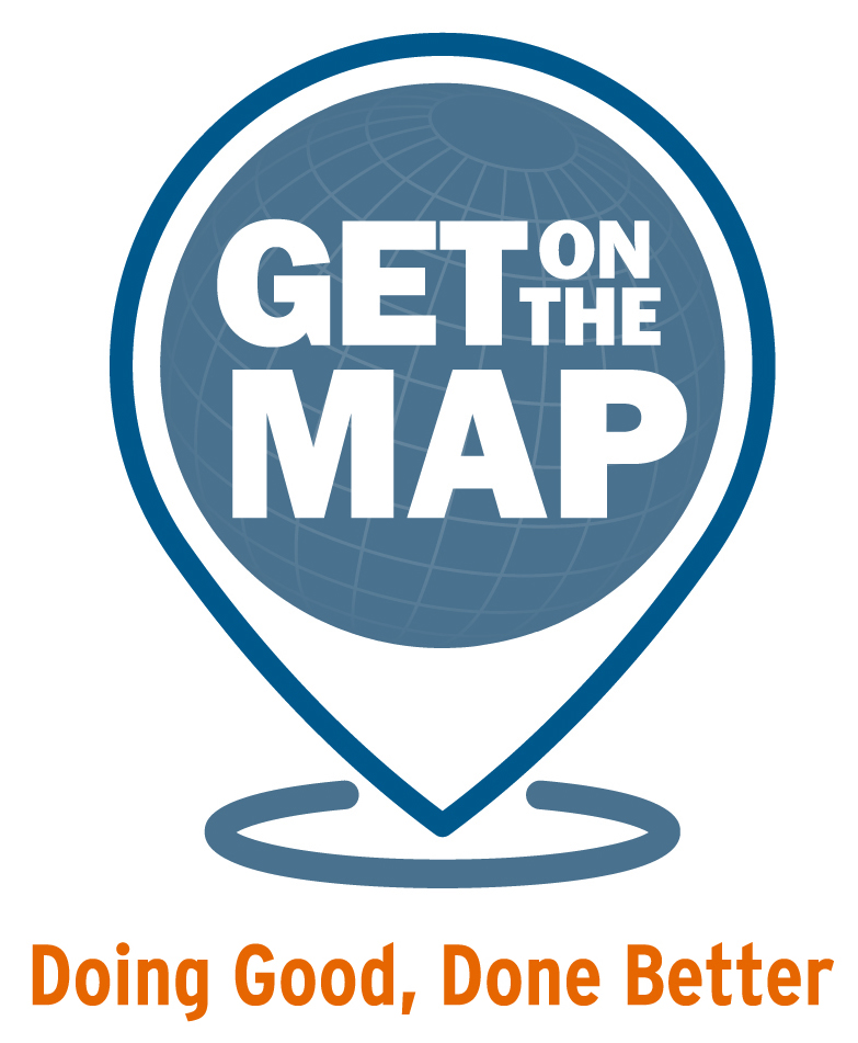 Get on the Map Logo