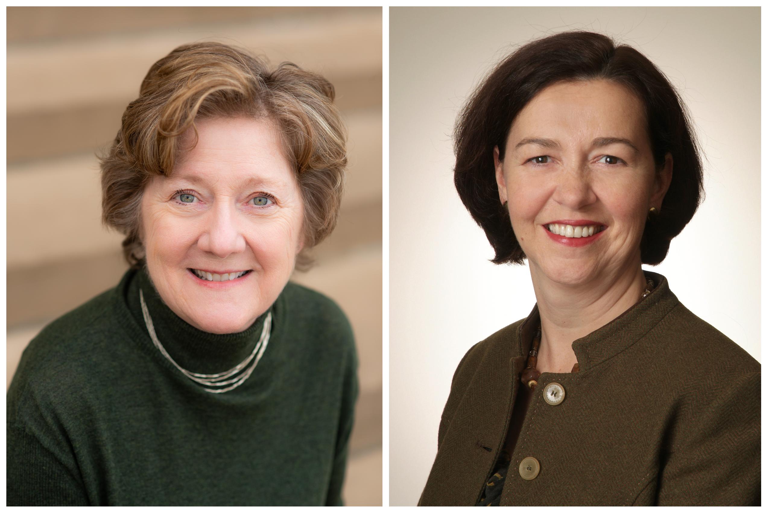 Jane Callahan & Barbara Carswell Headshots