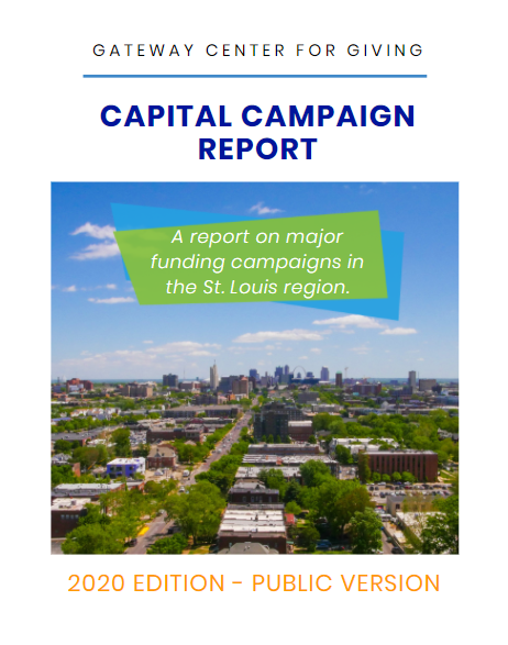 Cover of the Capital Campaign Report - 2020 Edition Public Version