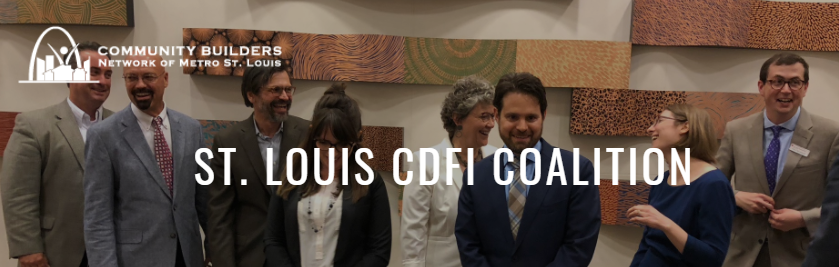 Members of the St. Louis Coalition at the St. Louis CDFI Forum hosted by the Federal Reserve