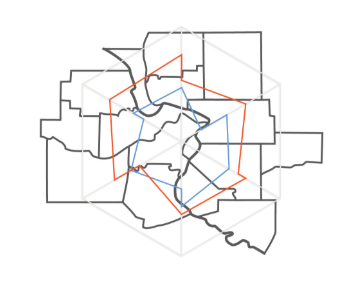 Outline of Missouri Counties Included in the Report
