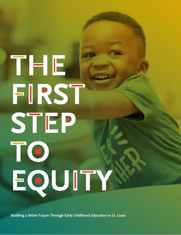 Cover of the First Step to Equity Report