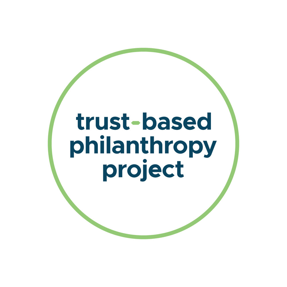 Trust-Based Philanthropy Project Logo